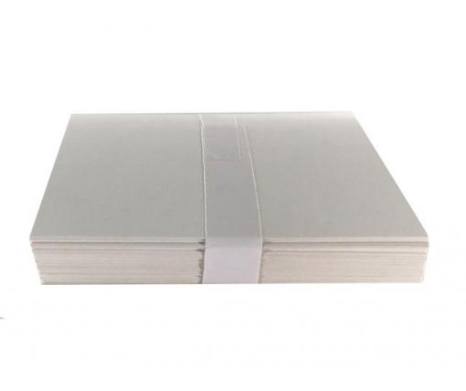 Бумага для заметок ,плотная .(кортон)  размер 90*130мм (1 пачка)