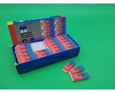 Резинка для стирания (ластик красно-синий )