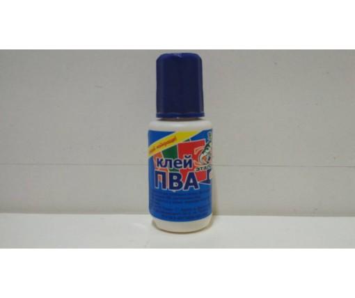 Клей  ПВА с кисточкой (1 шт)