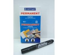 Маркер перманентный  1.0 -4,6mm скошенный  тм Centropen код8576 (10 шт)