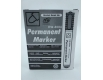 Маркер перманентный  1.0 mm тм Daimond код8004 Черный  (12 шт)