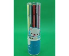 Фломастеры  в стакане тм Аihao (12цветов )  (1 пачка)