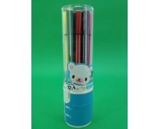 Фломастеры  в стакане тм Аihao (12цветов )  (1 пач)