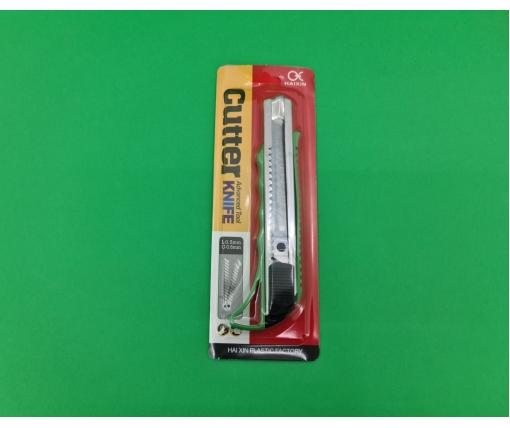Нож канцелярский №HX338 (18мм) (1 шт)