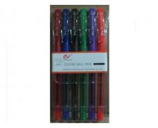 Ручки в наборе  тм Tianzhijiaozi 501р (6цветов ) (1 пач)