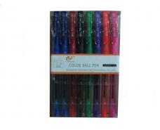 Ручки в наборе 8цветов тм Tianjiao 501р (8цветов) (8 шт)