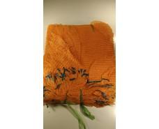 Сетка капроновая , овощная ( мешок)  (р25х39) 5кг оранжевый с ручкой (100 шт)