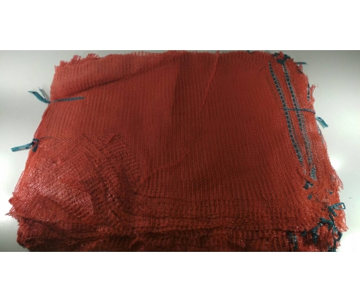 Овощная сетка (сетчатый мешок) (р50х80) 40кг красная (100 шт)