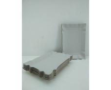 Тарелки одноразовые бумажные 130х190х0,3 прямоугольная  (100 шт)