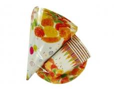 """Одноразовый набор бумажной посуды №1/19 """"Мармелад!""""  6шт (1 пач)"""