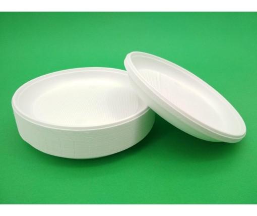 Одноразовая тарелка  160мм Эко  (100 шт)