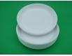 Одноразовая тарелка для второго блюда диаметр  205мм Супер  (100 шт)