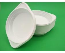 Одноразовая тарелка для первых блюд   обьем 350мл (100 шт)