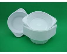 Одноразовая тарелка для первых блюд   обьем 500мл Супер (100 шт)