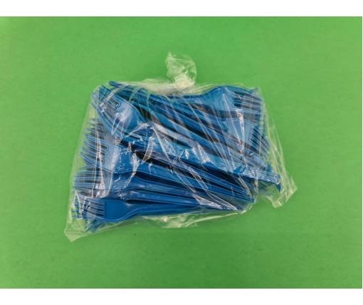 Одноразовая Вилка СПГ разноцветная  (100 шт)