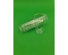 Рюмка стеклоподобная (на ножке) 50 гр (40 шт)