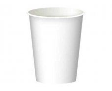 Стакан  бумажный 250 мл  белый (Маэстро) (50 шт)