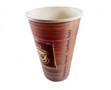 """Стакан  бумажный 500 мл """"№205 Чашка в рамке"""" Маэстро (35 шт)"""