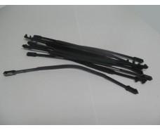 ручка-клипса к п/э пакет- *пластик   продается только к пакету  (10 шт)