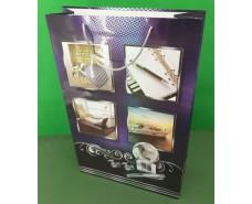 Пакет бумажный гигант вертиркальный (30х42х12)(артGV-007) (12 шт)