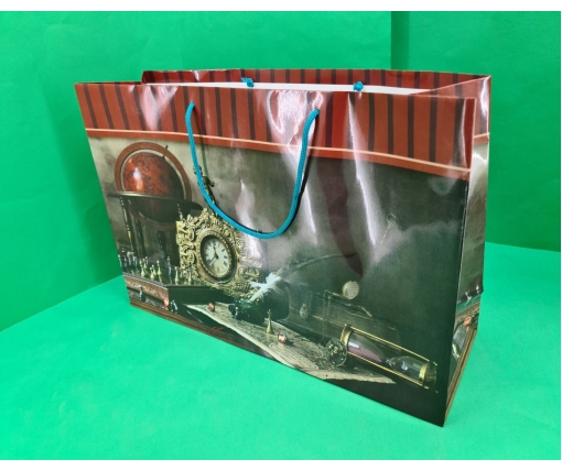 Бумажный пакет горизонтальный гигант 46*33*15 (артGG-004) (12 шт)