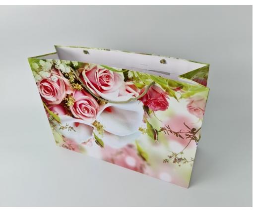 Бумажный пакет горизонтальный гигант 46*33*15 (артGG-017) (12 шт)