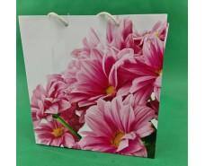 Пакет бумажный подарочный квадратный ы 23*24*10(артKV-016) (12 шт)