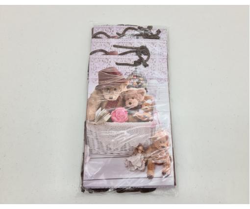 Бумажный пакет подарочный Средний 17/26/8 (артSV-045) (12 шт)