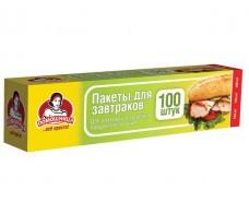 пакеты для бутербродов (100шт 5,5мкм 20*30) короб. Помiчниця (1 пач)