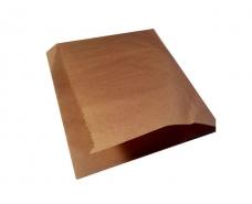 """Пакет бумажный """"гамбургер """"17см*16см коричневые (2000 шт)"""