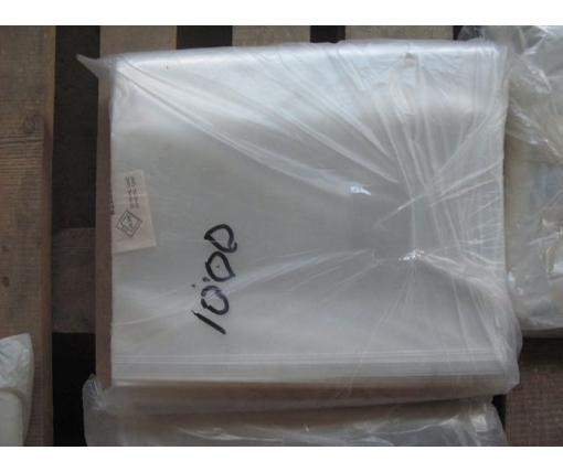 Пакет прозрачный полипропиленовый + скотч  21*26+4\25мк +скотч (1000 шт)