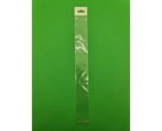 Пакет прозрачный полипропиленовый + скотч  4*34+4\25мк +скотч+ш+ж+перф (1000 шт)
