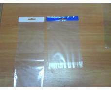 Пакет прозрачный полипропиленовый + скотчк  10*13,5+3\25мк +скотч(+еврослот3,5) (1000 шт)