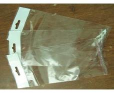 Пакет прозрачный из ППск  9*33+3\25мк +скотч(+еврослот3,5) (1000 шт)