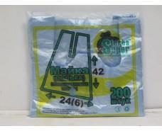 Пакет-Майка с ручками №24*42 Супер Торба(полька)(200шт) (1 пач)