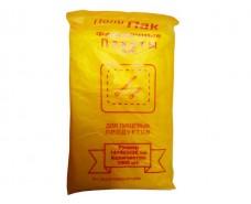 Фасовочный пакет №4 (14+4х2)х26(1000шт) yellow Кривой Рог (1 пач)