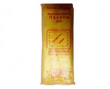 Фасовочный пакет №7 (14+4х2)х38(1000шт) yellow Кривой Рог (1 пач)
