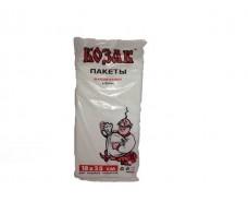 Фасовочный пакет №9 (26х35) 0,4кг Козак белая ЭКОНОМ (1 пач)