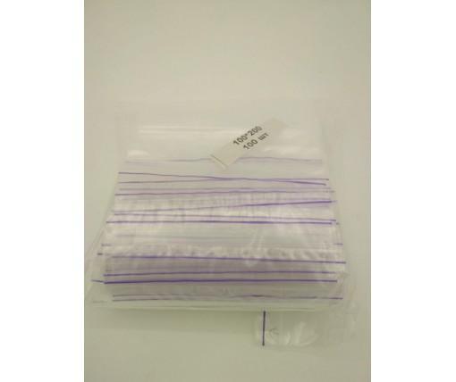 Пакет с замком Zip-lock 10х20(100шт) (1 пач)