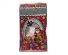 фольгированный пакет Н.Г (20*35) №31 Дед Мороз и медведи (100 шт)