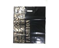 """Пакет с прорезной ручкой (45*53+3)""""Fashion""""Леоми (50 шт)"""