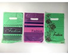 """Пакеты с вырубной ручкой (20*30)""""""""Fashion клетка"""" Леоми (100 шт)"""
