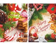 """Пакет с прорезной ручкой (25*35+3)""""Merry Christmas """" ХВГ (25 шт)"""