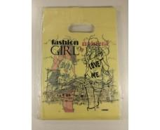 Пакет с вырубной ручкой Подарочный (20*28) №22 китай (100шт) (1 пач)