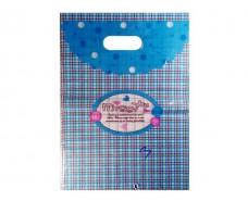 Пакет с вырубной ручкой Подарочный (25*35) № 3 китай (100шт) (1 пач)