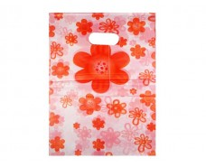 Пакет с вырубной ручкой Подарочный (25*35) № 8 китай (100шт) (1 пач)