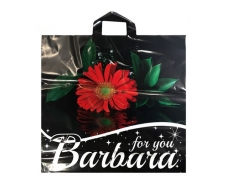 """Пакет с петлевой ручкой  б  (45*43)""""Барбара Гербрера"""" (20 шт)"""