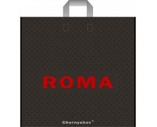 """Пакет с петлевой ручкой  ср п """" Roma""""  (46*44) 100мк Ренпако (25 шт)"""