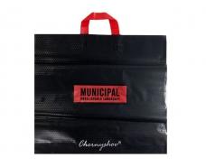 """Пакет с петлевой ручкой  ср п """" Муниципал"""" (46*44) 100мк Ренпако (25 шт)"""