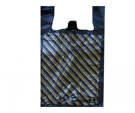 Пакет майка полиэтиленовая Диагональ (37х60) №2 (100 шт)